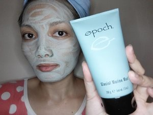 My weekly deep mask with EPOCH Glacial Marine Mud which is a revitalising clay mask which uses over 50 natural minerals and sea botanicals to draw out dirt and impurities from the skin. This natural formula absorbs dead cells, excess oil and other impurities whilst also cleansing, so it leaves the skin looking brighter. #nuwaves #mudmask #epoch #review #product #sabahan #beautyblogger #bblogger #malaysianblogger #clozette #glacialmarinemud #kbeauty #beautyskin #skincare #weekly #deepcleansing