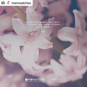 """~~Listen carefully in order to be heard. There's too much noise out there, quiet your mind and clarity will come to us 😘 sharing great inspiration here. Wise words, thanks @memwatches for the reminder. Happy weekend, lovelies!~~ : #Repost @memwatches with @make_repost ・・・ Something to ponder today. If you really want someone to """"hear"""" you, please remember that it's your words (and tone) that are effective and have meaning, not how loud you say them.  Have a blessed Friday MEMbers!"""