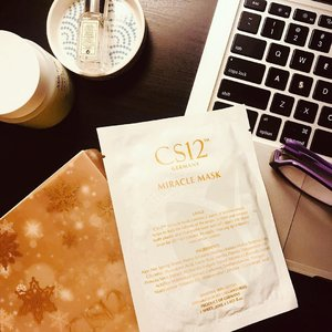 ~~Time to unwind and infuse our skin with hydration, hydration and more hydration. What better way to do it than with a mask! This #MiracleMask from @cs12skincare which is packed full of moisture and nutrients should do! Great for repair and good for even the most sensitive skin~~ : . Thanks @cs12skincare for the huge love 💕 😍💗