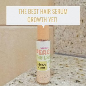 #Beautyctionary: My review about @skinpotions Peach Thy Lash is now live! Link on bio.. #clozette #blogger #hairgrowthserum #lashes #beauty #pinayblogger