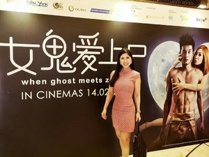 Movie Gala of When Ghost Meets Zombie  Have not figured out what to do for Valentine's Day? Why not go for Singapore's first ghost-zombie romance comedy!  The movie tells the story of Pong (Nathan),who turns into a zombie when saving his town from a disaster. He led a mechanical and aimless life until a female ghost named Zhen Zhen (Ferlyn) came into his life.  The rest would be for you to find out!  #wgmz #wawapictures #AsiaOneMostPromisingPersonality2018 #MrsChinatownInternationalAllNation2018 #MrsBeautifulSkin2018 #MrsChinatownSingapore2018 #celestiafaithchong  #beautydeconcierge #beautyconcierge #aesthetic #cosmeticsurgery #plasticsurgery #imageconsultant  #marketer  #msbabelovebebes #influencer #imagecoach #clozette #starclozetter #baseentertainmentambassador