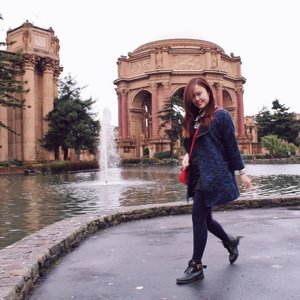 Palace of Fine Arts #TravelStyle
