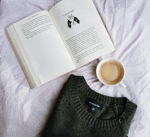 'Loving Saturdays like this! And this book is to die for! Book 3 of The Powder Mage Trilogy. #clozette #bookstagram #coffeetime