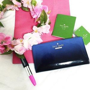 Thank you @clozetteco for my Kate Spade wallet.. // #clozette #MakeItHappen #KateSpade #blogger //