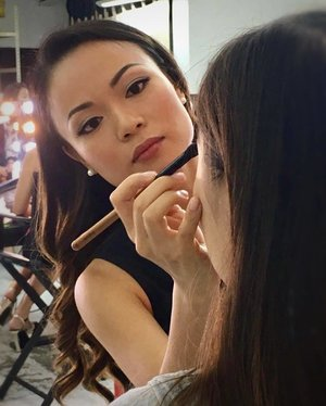 #Throwback to the collaboration video/photoshoot with celebrity MUA Hitomi Natori for HerWorld magazine! My model Maria is one of the contestants in the upcoming series