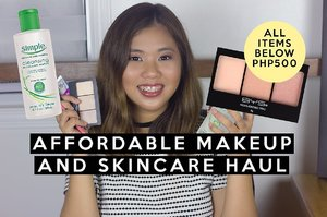 Affordable Makeup and Skincare Haul - Watsons, Online, etc! - YouTube