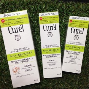 These product have been keeping my face soft, smooth and pretty clear. It is the Curél Singapore Sebum Care range from Japan made for Sensitive and Oily/Combination Skin like me!  Check out my blog to know more about it! you dont want to miss this out! :) http://cassansaurus.blogspot.sg/2014/07/curel-sebum-care.html