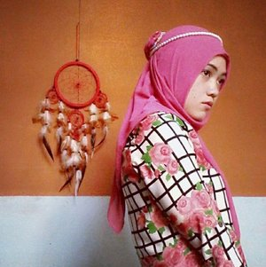 #me w/ #dreamcatcher #pinky #red #theme  #clozette let's share our look here.. ^^