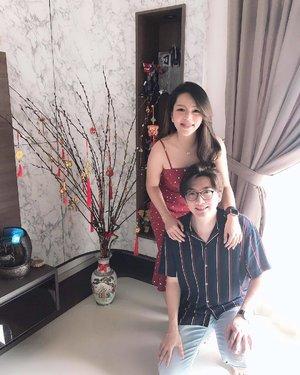 Chu 5 一 House visitation to Vincent's & Godma's crib. Gotten my first triple 7 in my whole entire life and won big bucks. 😬 . . . #clozette #大年初五 #恭喜发财 #sgblogger #singaporeblogger #follow #followme #ootd #selca #selfie #selfstagram #poppyshootrandoms #love #pretty #iger #igsg #instadaily #vscocam #vscosg #photooftheday #potd #iphonegraphy #iphonex #asians #instaphoto #postthepeople #jdxeseah #mdsootd #cny2019 #mdscny2019