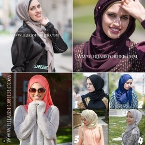 For your hijab, choose shades that suit your personality. Choosing the shades that fits your personality and style would be the best option.