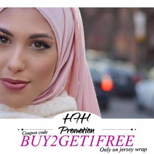HFH Offer's  Buy Two Get One Free Only On Jersey wrap.