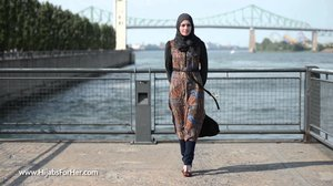 HFH | Hijabs For Her Spring & Summer Collection 2015 - YouTube