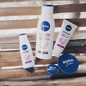 Lovin' all the products from Nivea especially the Nivea Extra White Body Serum! 💙It is the innovative serum that whitens, repairs and protects to achieve long lasting even fairness! #NiveaPH #Clozette #ClozetteAmbassador