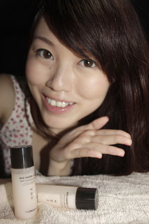 The Face Shop Cleansing Series - my go to cleanser for gentler action on my face.
