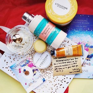 Any lovers of Xmas and Macarons out there? 😉 because #loccitanesg has collaborated with the ever famous #pierrehermeparis to create an amazing collection that blooms with the scent of merriment and deliciousness. 🌼 I've been lucky enough to be sent an EDT, hand cream and body lotion (each more scrumptious than the next!). ☃ ALSO! MMCO (Modern Minimalist Co) has worked together with #Loccitane to create a gorgeous limited edition MACARON NECKLACE that's drop dead cute!!! All you need to do is SPOT, SNAP AND UPLOAD A PHOTO of the hidden macaron in their selected Loccitane Stores to FB or IG to win 🎉🎉. Thanks for kick starting my XMAS MOOD 🌲. #clozette #getklarity