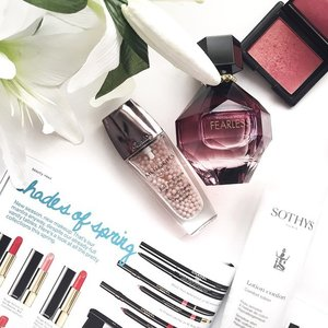 Reading up about all the new SS15 beauty launches whilst getting ready to head out for lunch on an extremely sunny Sunday afternoon 😎 What's everyone up to today? #clozette #getklarity