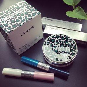 my little #LANEIGE #haul // #laneigepushbutton #laneigeBBcushion #ArtPlayLiner #eyeliner #makeup #makeuphaul #laneigehaul #clozette