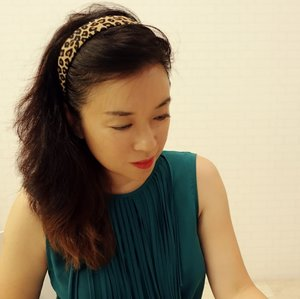 Animal print hair band, one of my fave essentials