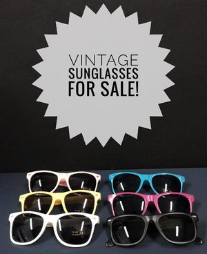 For sale for sale! Fashionable and instagrammable sunglasses 😎 #sgblog #sginfluencer #bloggersg #blogsg #clozettesg #clozette #bloggersg #scooters #beautysg #fashionsg #sunglass #stickjerry #alphawheelz