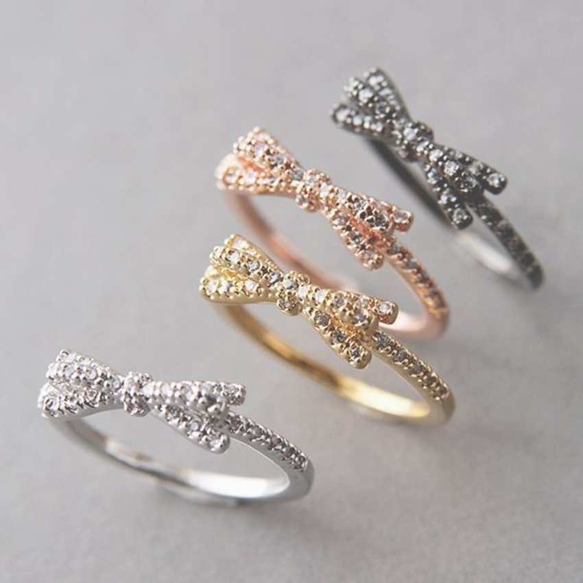 add your cutes style with kinda  ring
