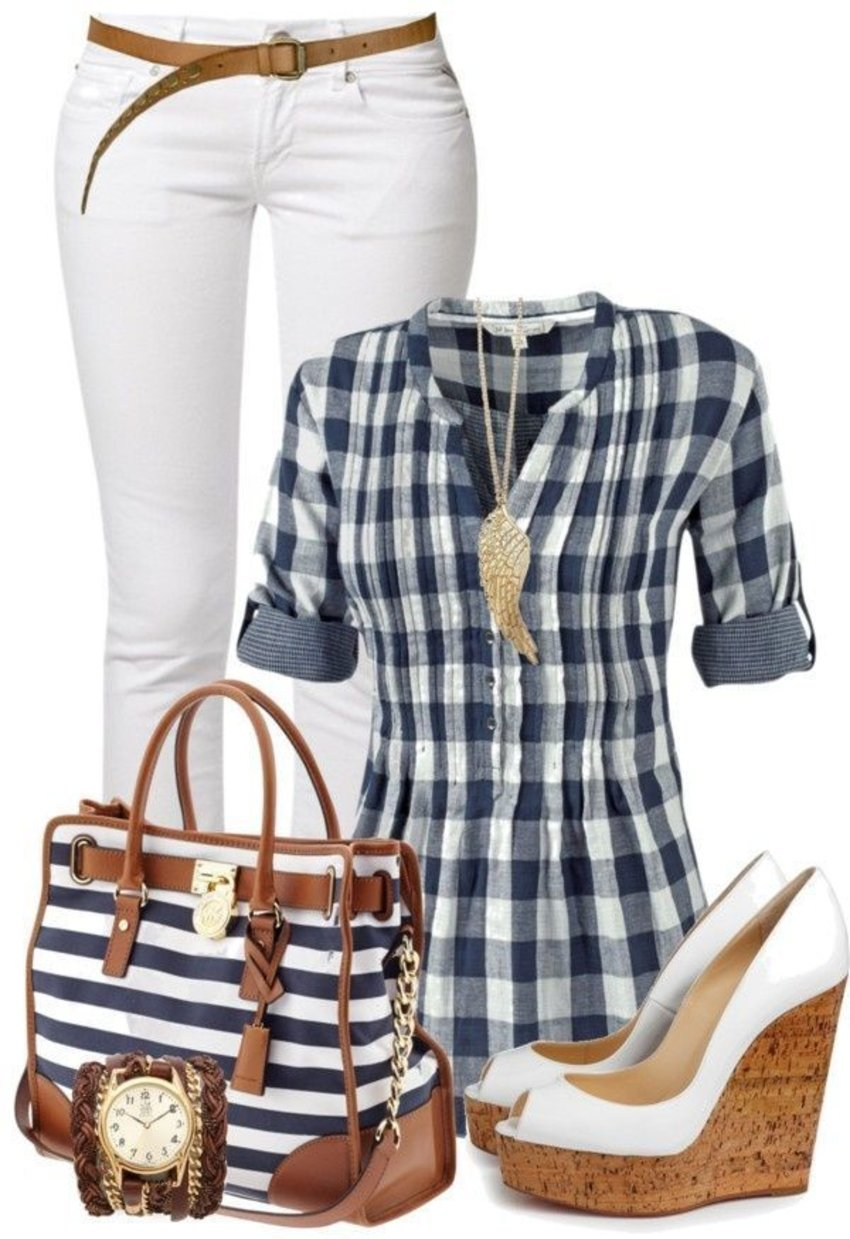 I love stripes! And here's today's clothing ensemble.