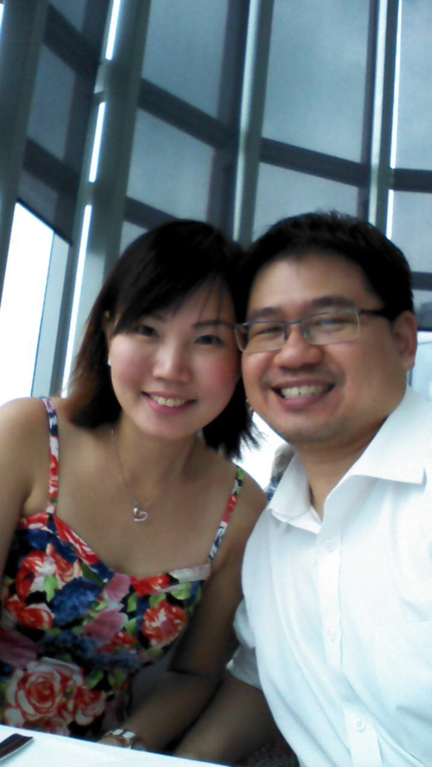 Our 6th Year Wedding Anniversary at Salt Grill and Sky Bar