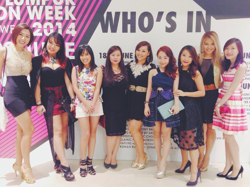 One with the lovely Clozette ambassadors and bloggers from Malaysia!