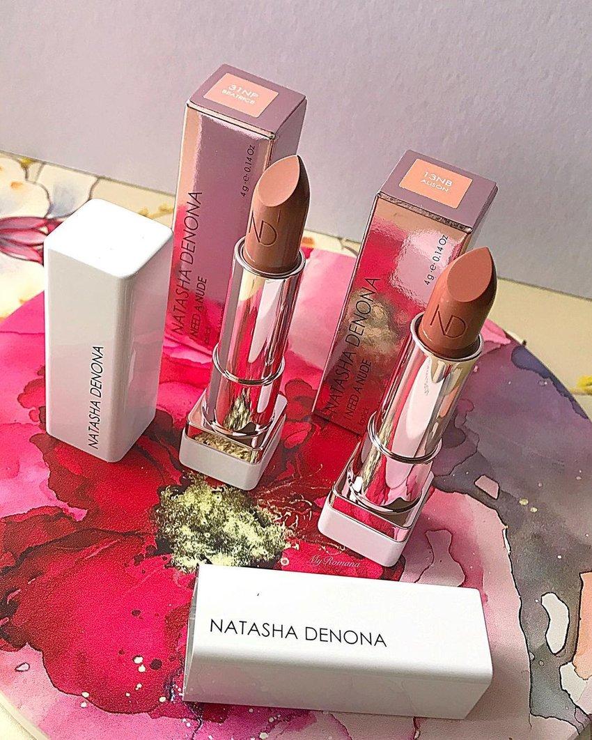 A photo of the Natasha Denona I Need A Nude Lipstick