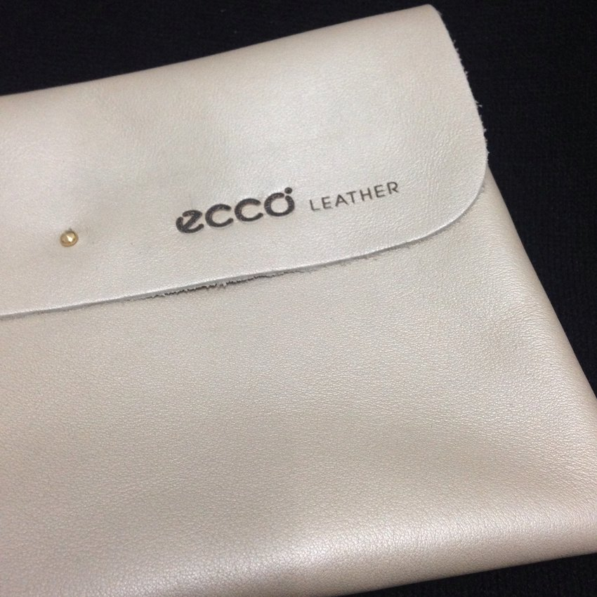 Self-assembled #EccoMalaysia leather pouch at the Ecco Malaysia Leather Workshop