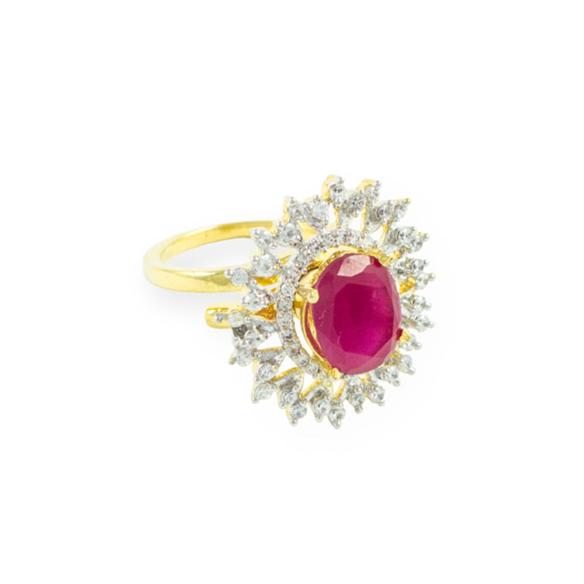Buy ruby ring online at cheap prices.