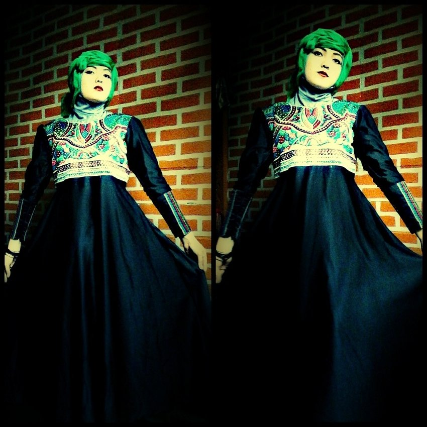 #elegant #fashion #hijab #beauty #unique #lux #party #makeup #formal #photo #art #makeup all by #my #self , #clozette #indonesia #woman