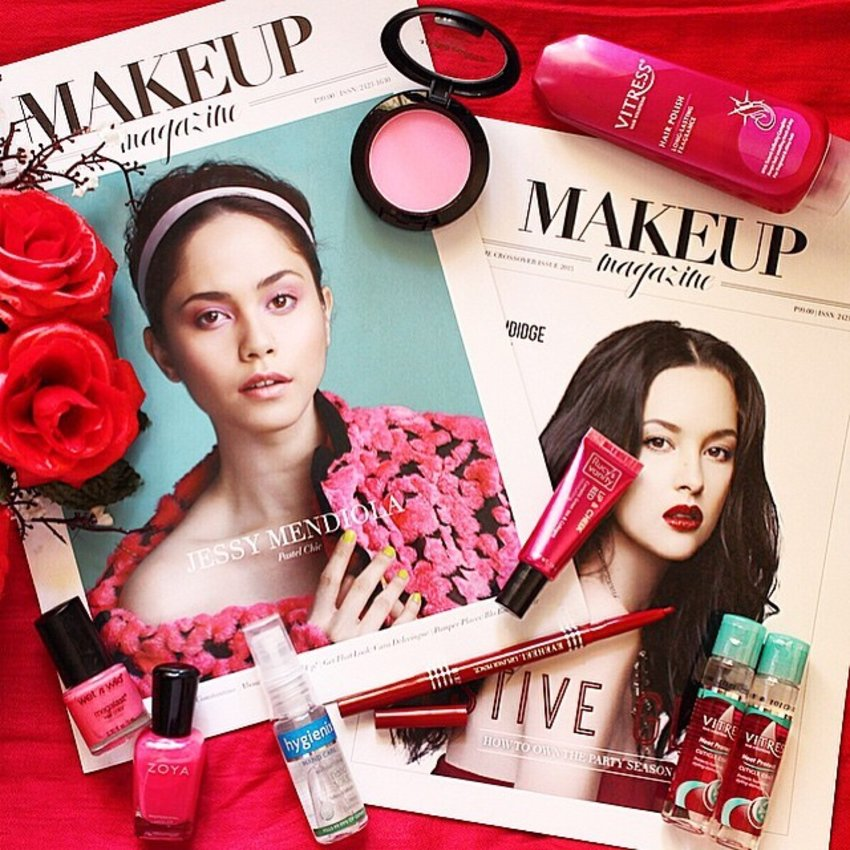Here's to probably one the most aesthetically pleasing magazine layouts I've seen locally! Congratulations @makeupmagph for your latest issues! If you're on the lookout for a mini beauty book for all your beauty needs, this magazine is for you. Makeup Magazine is available for digital downloads for only P99 (http://www.buqo.ph/Shop/Magazine/PH_MAKEUPMAGAZINE) ❤️❤️❤️ #MakeupMagPH #makeupmagazine #events #clozette #clozetteco #beauty
