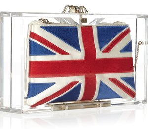 Charlotte Olympia London clutch is awesome!
