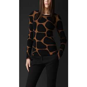 Burberry Animal Pattern Sweater