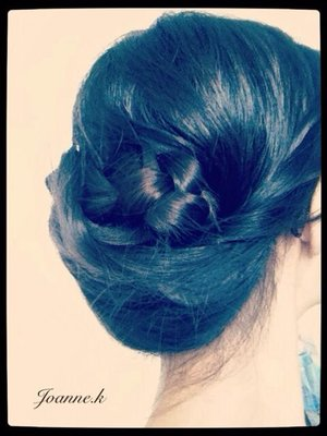another simple DIY hairstyle...