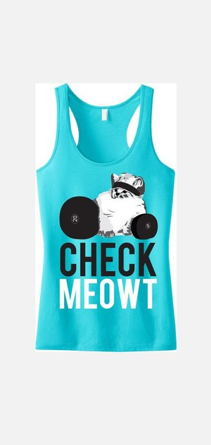 CHECK MEOWT Workout Tank Top