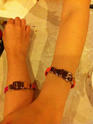 Bracelet with my lovely sister