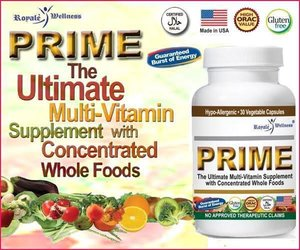 PRIME delivers energizing, health-enhancing phytonutrient benefits from whole food concentrates and extracts of the world's greatest green, red, blue, yellow and white fruits and vegetables