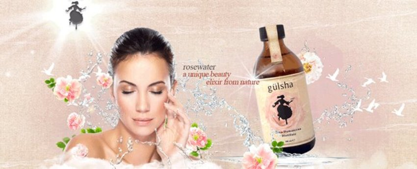 Skin perfection in a bottle! Moisturize,clean and tone in one go! Try the pure rose water,mild enough for sensitive skin and helps to whiten skin too!  Limited bottles produced each year makes this rose water even more special!  http://www.glowii.com/brands/gulsha.html