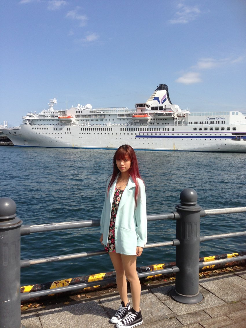 Cruise at Yokohama. One day i'm going to sail the entire Japan!